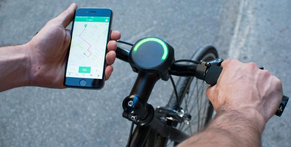 SmartHalo : découvrez le GPS qui éclaire !