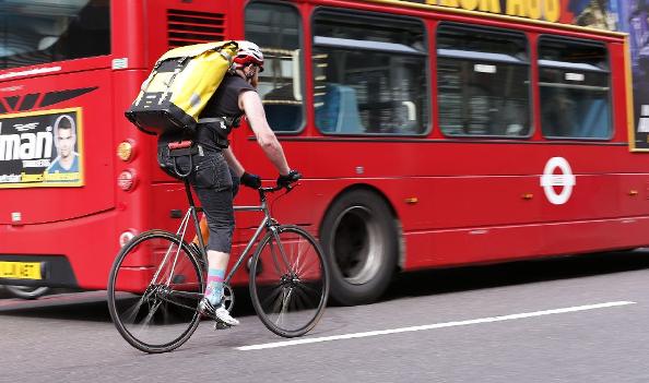 Quel est l'équipement complet du Messager, coursier à vélo ?