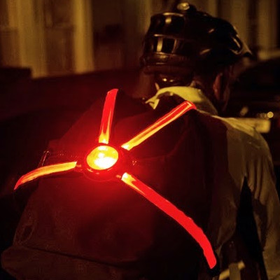 Harnais LED pour cycliste