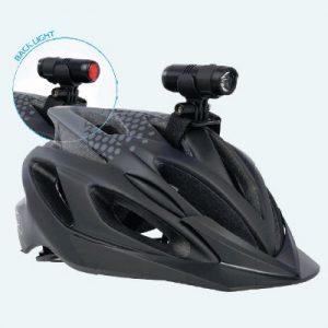 éclairage vélo casque