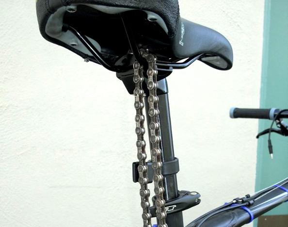 Transformez votre chaîne vélo en antivol !