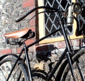 Selle de vélo en cuir
