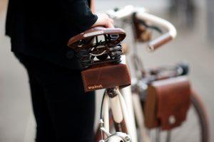 Entretien d'une selle vélo en cuir