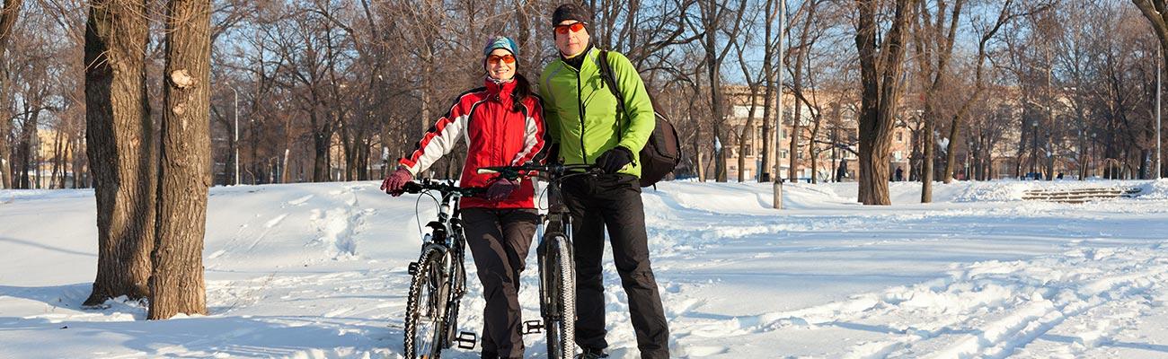 Le vélo en hiver : 4 points essentiels pour continuer à monter en selle