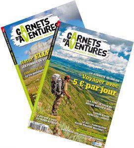 Deux numéros de Carnets d'Aventures