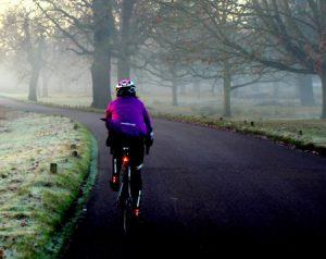 vélo l'hiver