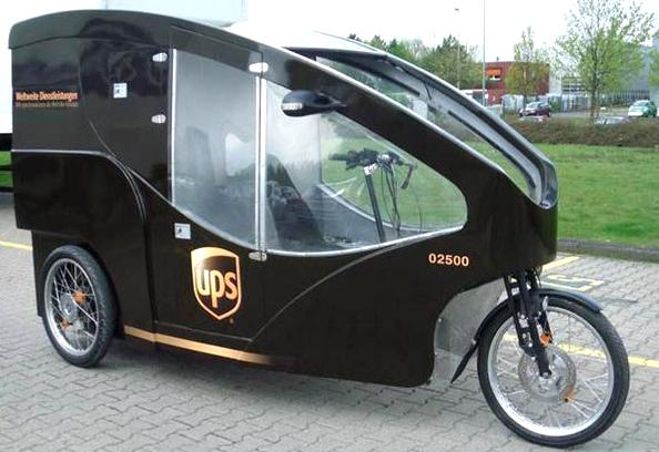 UPS : la livraison en vélo électrique bientôt à Paris