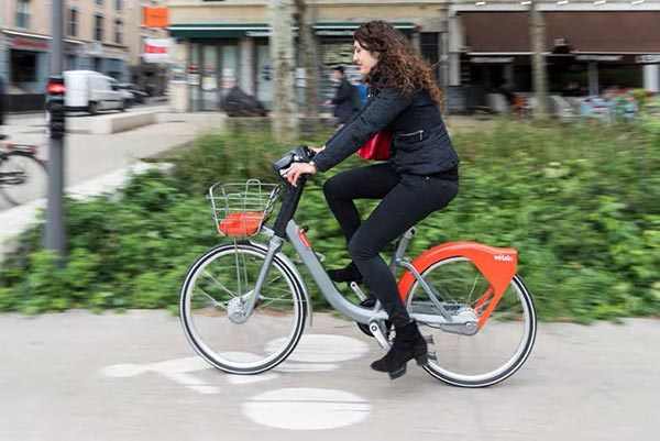 Balde en Vélo'v