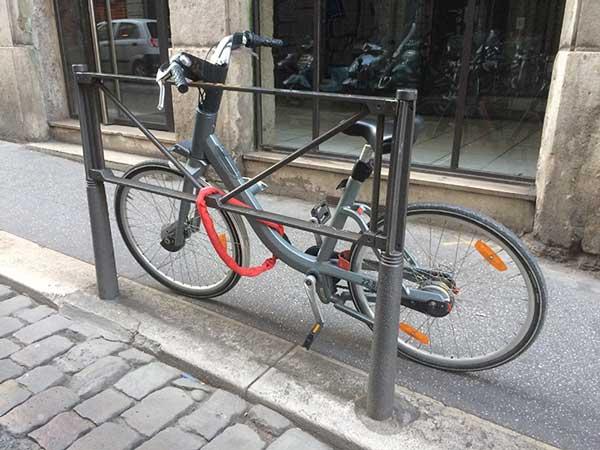 Un vélo'v personnel