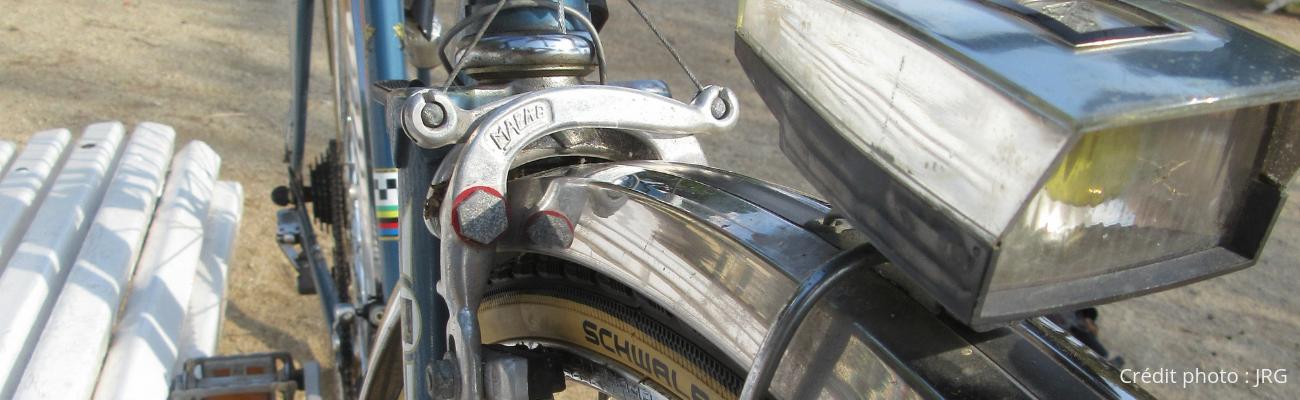 netejar el crom Elements de la vostra bicicleta