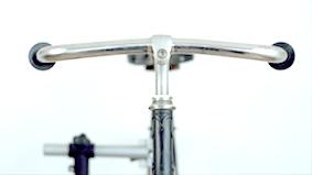 Màniga de bicicletes antics crom
