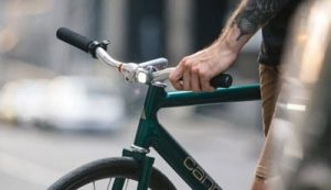 Eclairage de vélo avant design Blinder Mini Dot Knog