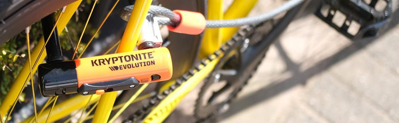 Cadenas et antivol Kryptonite : l'excellence de la sécurité vélo