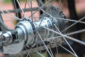 roue rétropédalage vélo