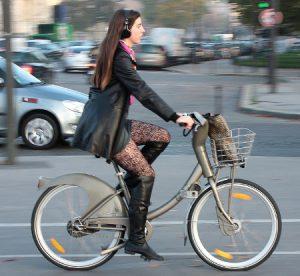 écouteurs à vélo