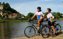 Balades vélo en amoureux dans la vallée de Dordogne