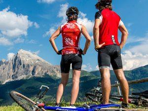 Itinéraire vélo dans les dolomites