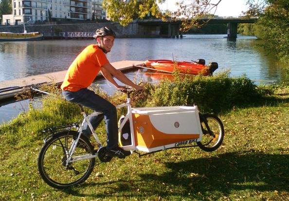 La Clef à Cyclette : l'atelier vélo mobile réactif
