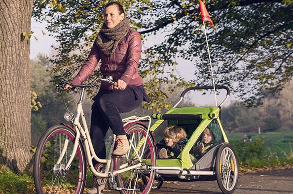 Les nouveautés vélo 2016 chez Croozer