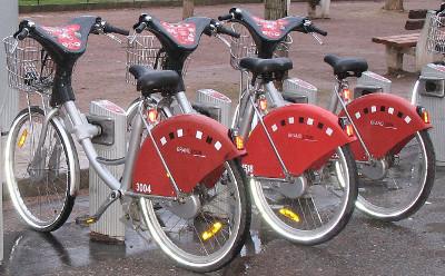 vélo'V à Lyon