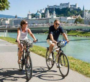 Salzburg à vélo