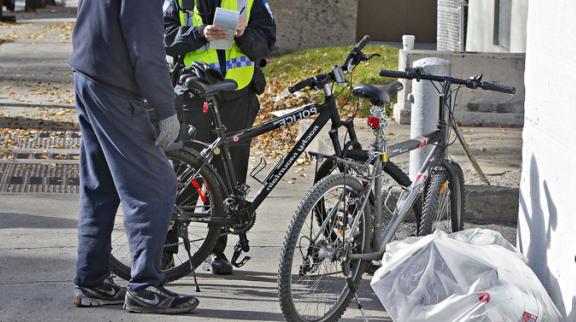 Les contraventions, c'est aussi pour les cyclistes !