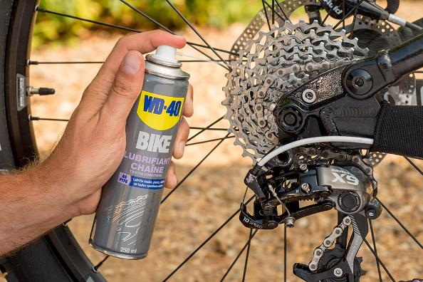 Tous les points à lubrifier sur votre vélo