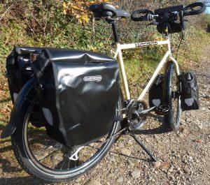 Un Chevalier Cycles prêt à partir.