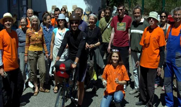 Roulons à vélo, l'association en vogue à Avignon