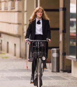 aller au travail à cycle