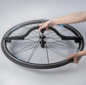 comparateur d'alignement pour défaut roue vélo