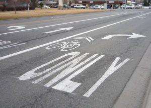 piste cyclable pour velo uniquement