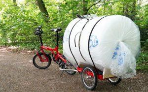 remorque vélo modulable