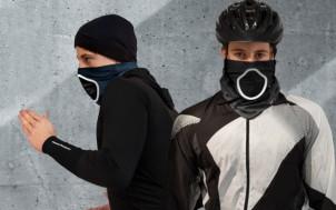 smog protection had foulard anti pollution