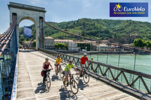 EuroVelo 17 : ViaRhôna rejoint le réseau européen des itinéraires cyclables