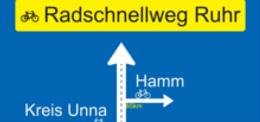 autoroute de vélo entre Duisbourg et Hamm
