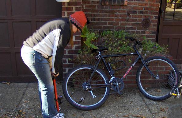 gonfler pneus vélos