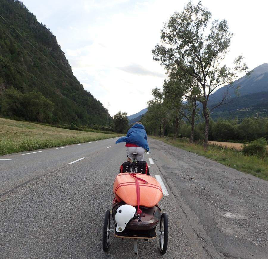 aventure sans carbone à vélo