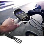 Attache smartphone sur guidon de vélo