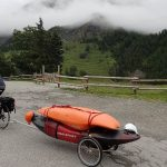 transporter un kayak à velo