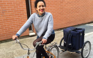 Livraison à vélo Jay&Joy