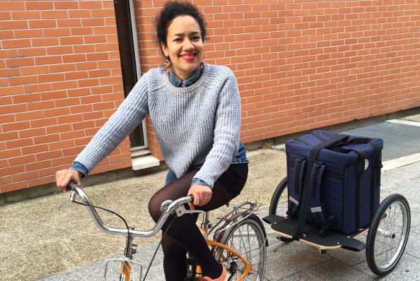 Jay & Joy : des produits laitiers livrés à vélo