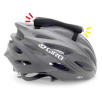 Lumière avant et arrière sur casque vélo - Two Wheel Cool