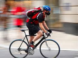 masque pollution cycliste velo
