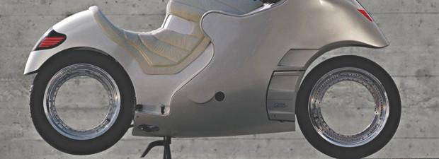 Franco Sbarro invente la roue orbitale sans moyeu