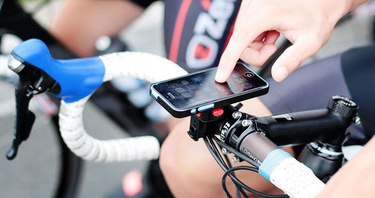 Emmenez votre téléphone portable partout à vélo grâce à Zéfal