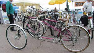 Stand aux foires à vélo