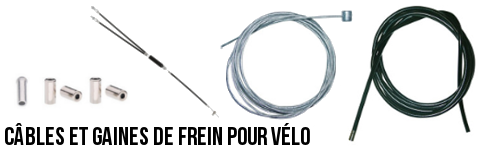 Câbles et freins de vélo