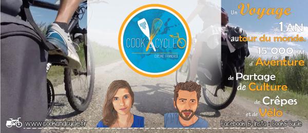 Cook & Cycle : la cuisine française à vélo sur les routes d'Asie et d'Amérique du Sud