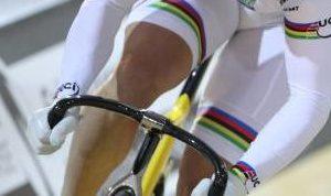 cuisses cycliste à vélo